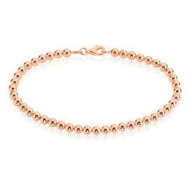 Damenarmband Kugelkette Silber 925 Rosé Vergoldet  - Armbänder Damen | Oro Vivo