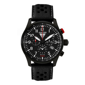 Junkers Herren Fliegeruhr Chronograph 6680-2 - Black Friday Herren | Oro Vivo