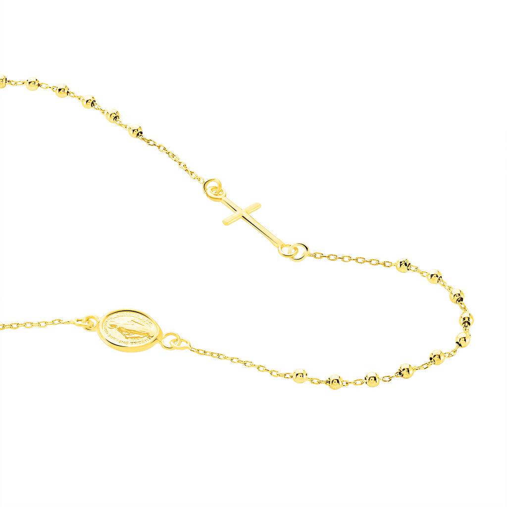 Damen Halskette Gold 375 Kreuz - Ketten mit Anhänger Damen | Oro Vivo