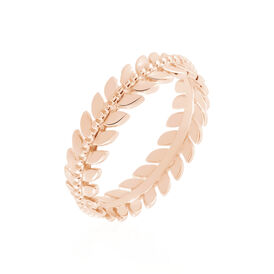Damenring Silber 925 Rosé Vergoldet - Ringe Damen   Oro Vivo