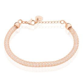 Damenamband Edelstahl Rosé Vergoldet - Black Friday Damen | Oro Vivo