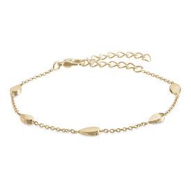 Boccia Armband Titan Gelb 03024-02 - Black Friday Damen | Oro Vivo