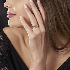 Damenring Vergoldet Zirkonia  - Ringe mit Stein Damen   Oro Vivo