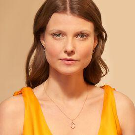 Damen Halskette Silber 925 Rosé Vergoldet - Ketten mit Anhänger Familie | Oro Vivo