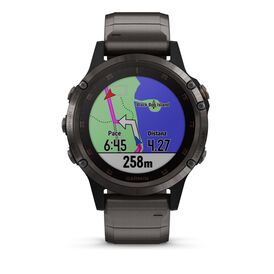 Garmin Herrenuhr Fenix 5s Plus 010-01988-03  - Black Friday Herren | Oro Vivo