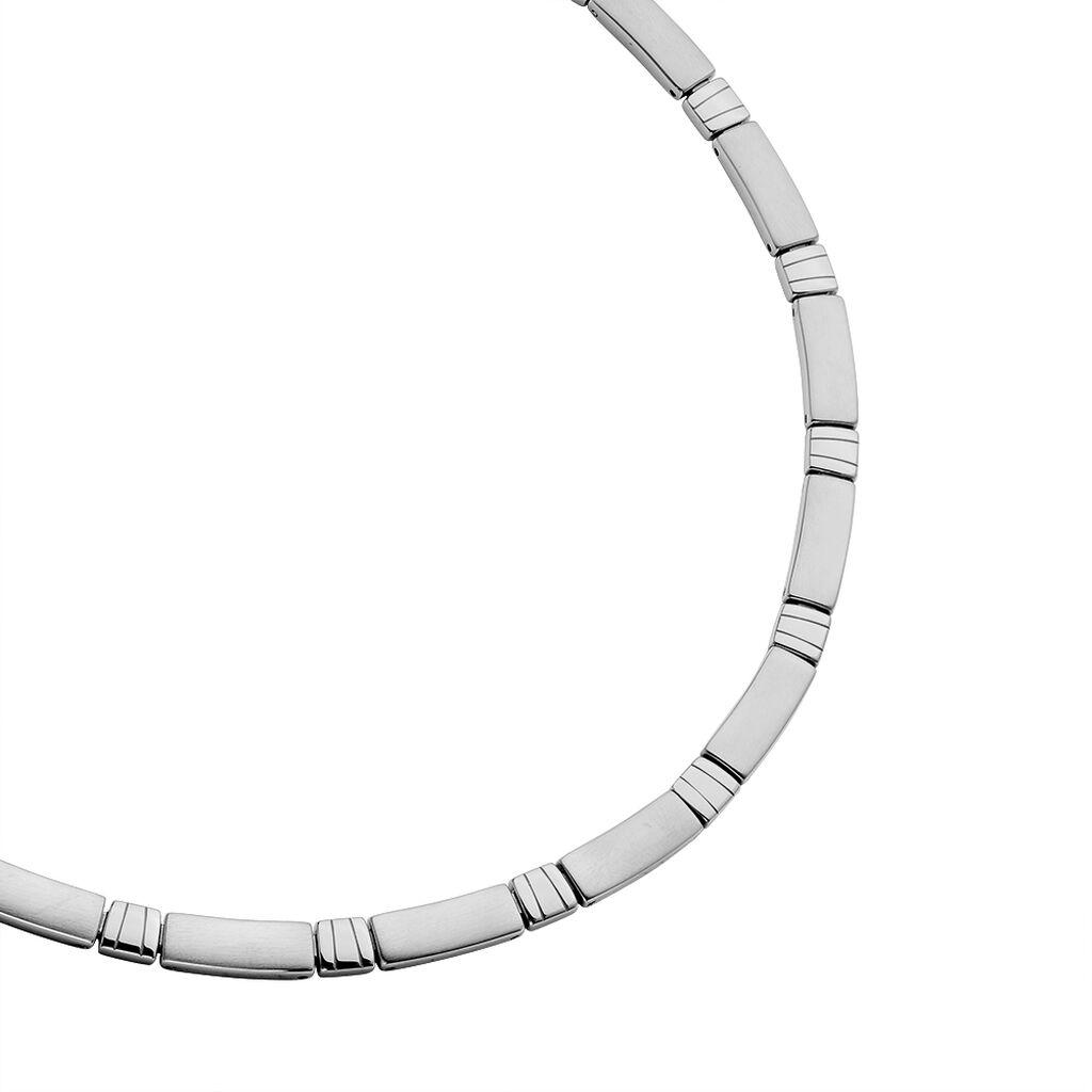 Damen Collier Edelstahl 47cm - Ketten ohne Stein Damen | Oro Vivo