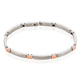 Boccia Damenarmband Titan Vergoldet Bicolor - Armketten Damen | Oro Vivo