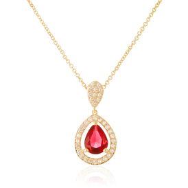 Damen Halskette Vergoldet Zirkonia -  Damen | Oro Vivo