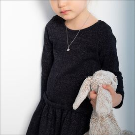 Kinder Halskette Silber 925 Elefant - Ketten mit Anhänger Kinder | Oro Vivo