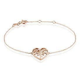 Damenarmband Silber 925 Rosé Vergoldet Lebensbaum - Armbänder Damen | Oro Vivo
