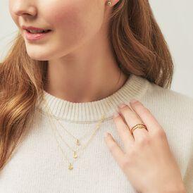 Damen Halskette Gold 375  - Ketten ohne Stein Damen   Oro Vivo