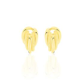 Damen Steckcreolen Gold 375  - Creolen Damen | Oro Vivo