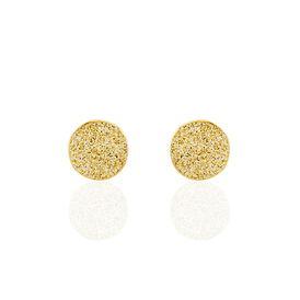 Damen Ohrstecker Gold 375  - Ohrstecker Damen | Oro Vivo