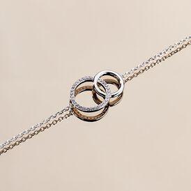 Damenarmband Silber 925 Zirkonia Kreis - Armbänder Damen | Oro Vivo