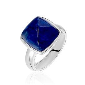 Damenring Silber 925 Glasstein -  Damen | Oro Vivo