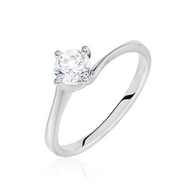 Solitärring Weißgold 750 Diamant 0,53ct -  Damen | Oro Vivo