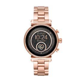 Michael Kors Damenuhr Sofie Mkt5063 Smartwatch -  Damen   Oro Vivo