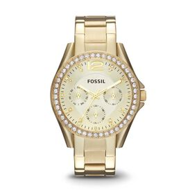 Fossil Damenuhr Riley Es3203 Quarz - Black Friday Damen | Oro Vivo