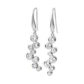 Damen Ohrhänger Lang Silber 925 Zirkonia - Ohrhänger Damen | Oro Vivo