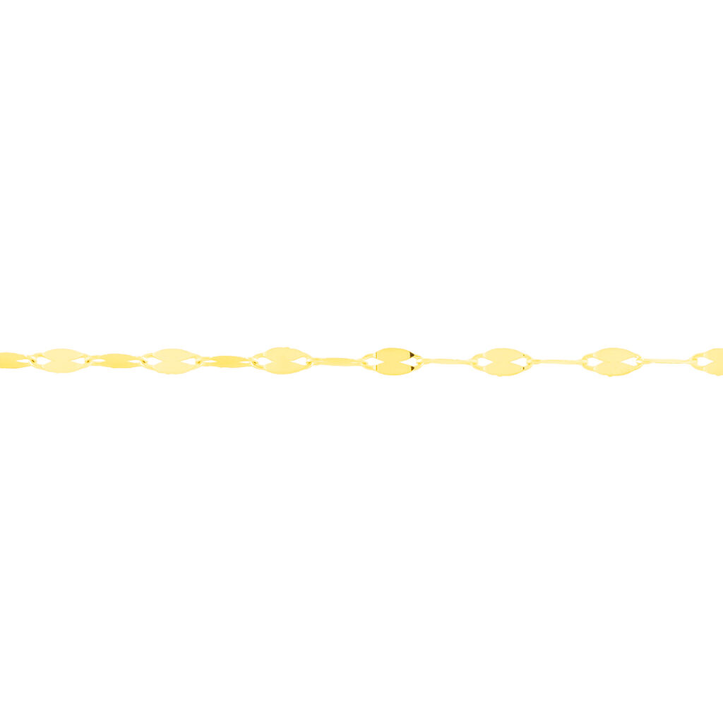 Damenarmband Luminakette Gold 375  - Armketten Damen | Oro Vivo