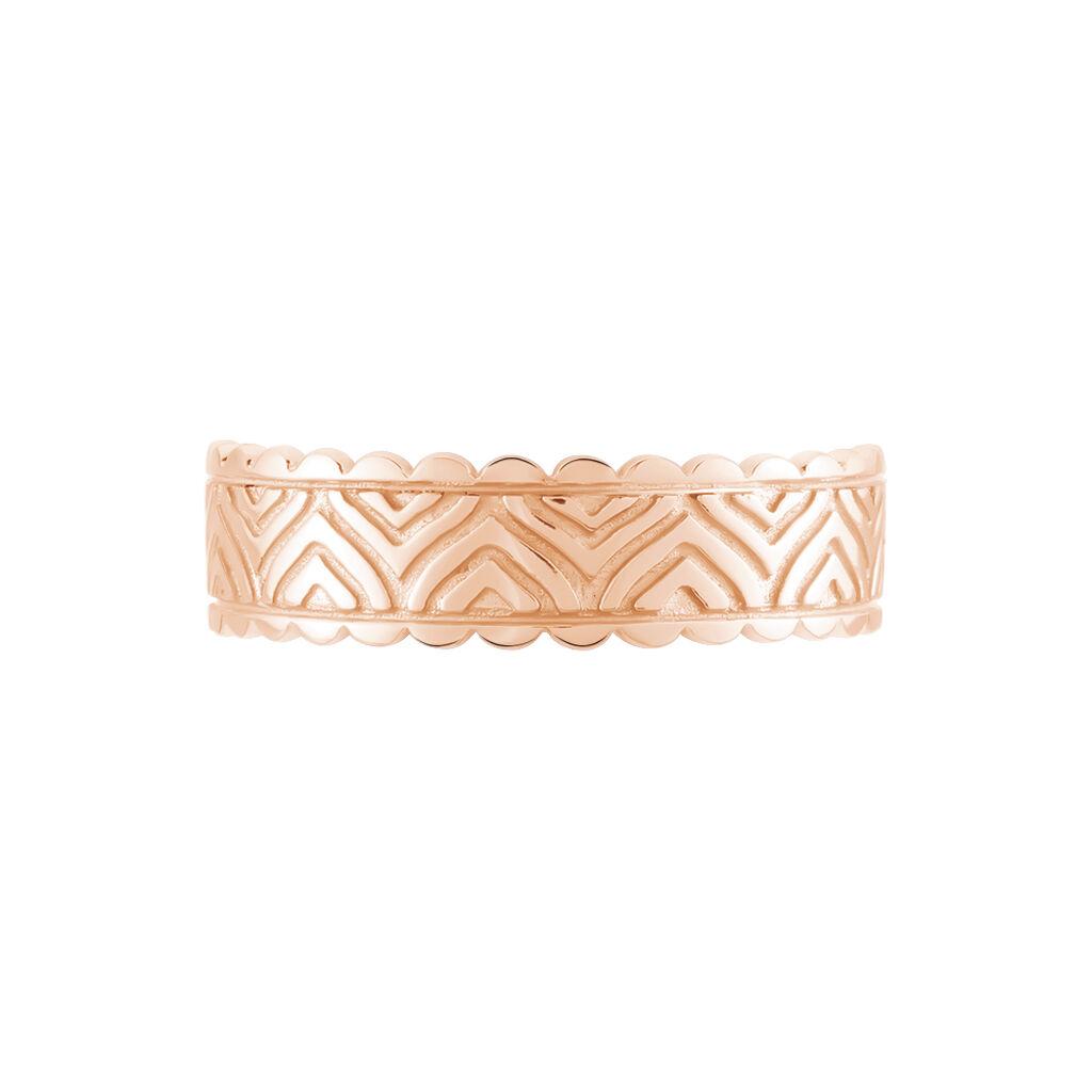 Damenring Silber 925 Rosé Vergoldet - Ringe Damen | Oro Vivo