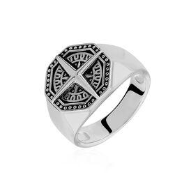 Herren Siegelring Silber 925 Kompass  - Siegelringe Herren | Oro Vivo