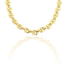 Damen Collier Gold 375  - Ketten ohne Anhänger Damen   Oro Vivo
