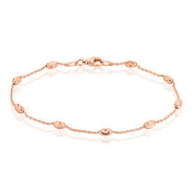 Damenarmband Silber 925 Rosé Vergoldet Kugeln - Armbänder Damen | Oro Vivo