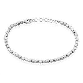 Herrenarmband Kugelkette Silber 925  - Armbänder Herren   Oro Vivo