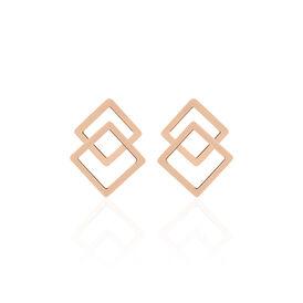 Boccia Damen Ohrstecker Titan Rosé Vergoldet - Ohrstecker Damen | Oro Vivo