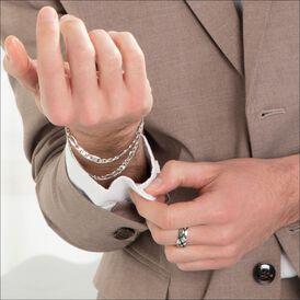 Herrenring Silber 925 Rhodiniert Geschwärzt - Ringe Herren | Oro Vivo