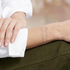 Damenarmband Silber 925 Herz  - Armbänder Damen | Oro Vivo