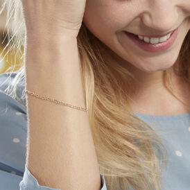 Damenarmband Figarokette Gold 375  -  Damen | Oro Vivo