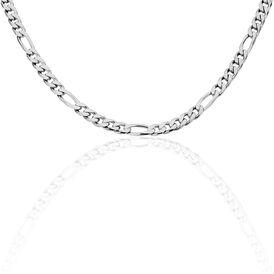 Unisex Figarokette Silber 925 50cm - Ketten ohne Anhänger Unisexe | Oro Vivo