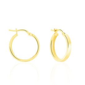 Damen Creolen Gold 375 15mm - Creolen Damen | Oro Vivo