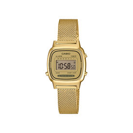 Casio Collection Damenuhr La670wemy-9ef Digital -  Damen | Oro Vivo