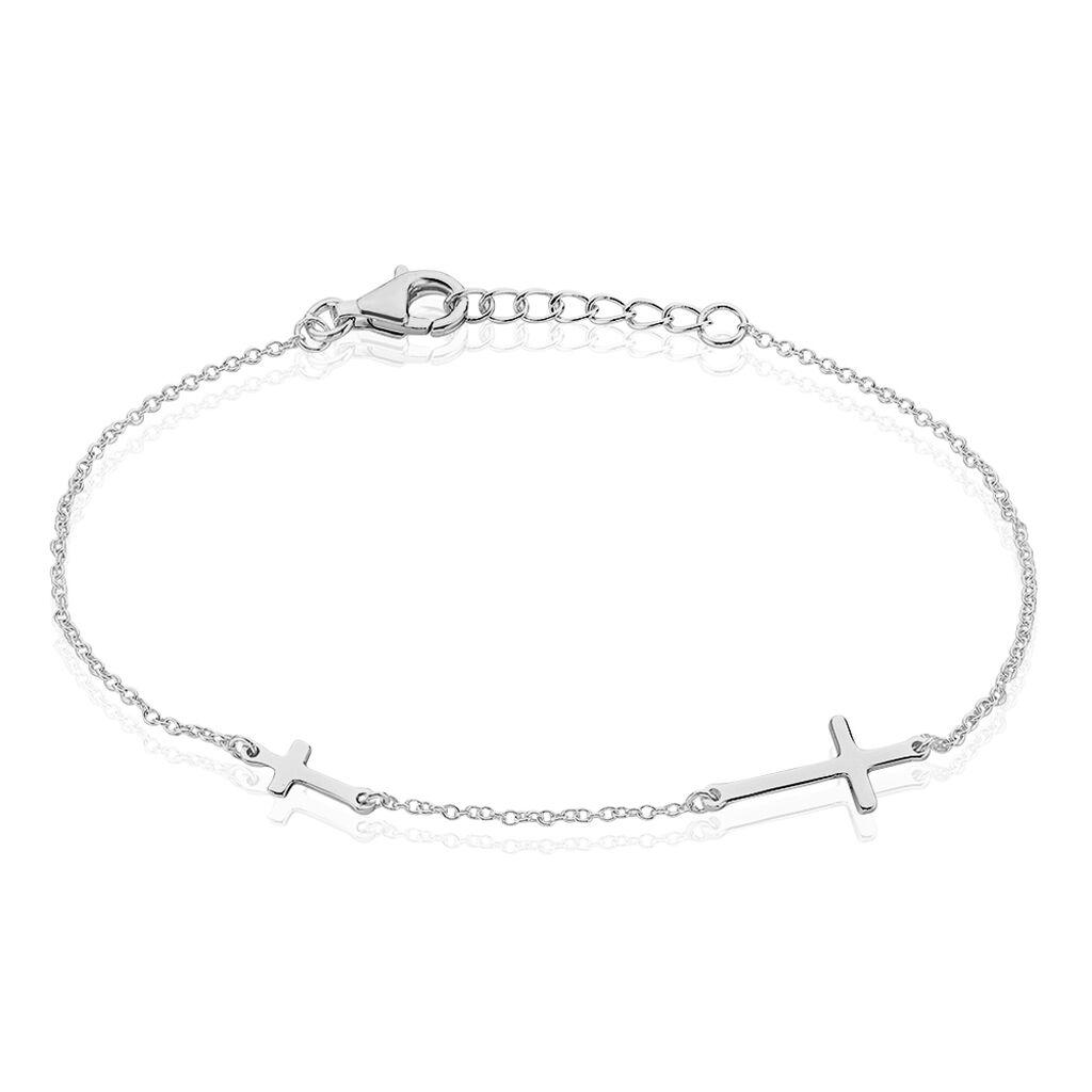 Damenarmband Silber 925 Kreuz - Armbänder Damen | Oro Vivo