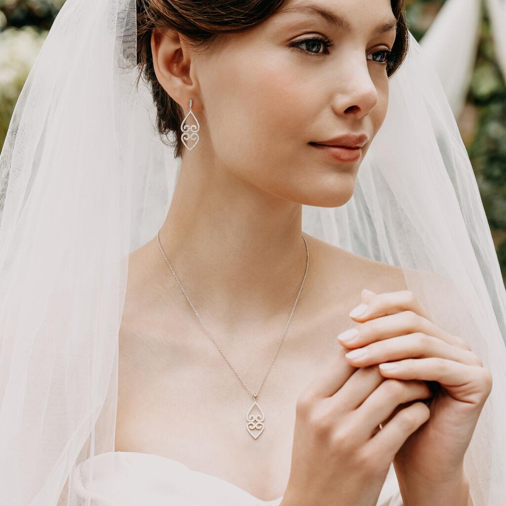 Damenarmband Silber 925 Zirkonia Herz - Armbänder Damen   Oro Vivo