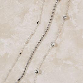 Damenarmband Silber 925 Zirkonia - Armbänder Damen | Oro Vivo