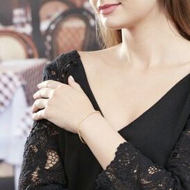 Damenarmband Kordelkette Gold 375  - Armketten Damen | Oro Vivo