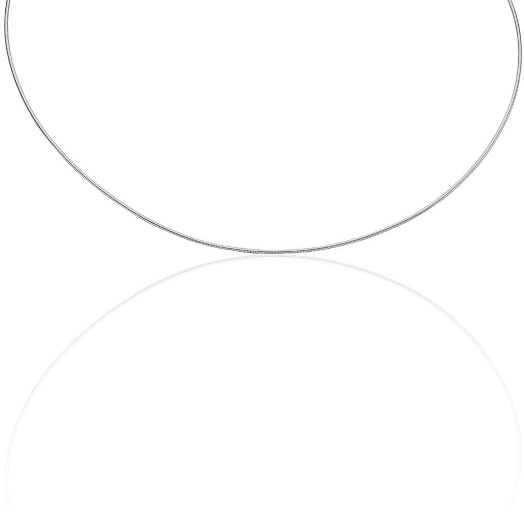 Damen Omegakette Silber 925 45cm - Ketten ohne Anhänger Damen | Oro Vivo