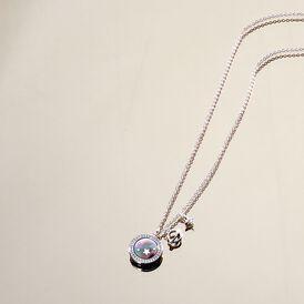 Damen Halskette Silber 925 Zirkonia Perlmutt - Ketten mit Anhänger Damen | Oro Vivo