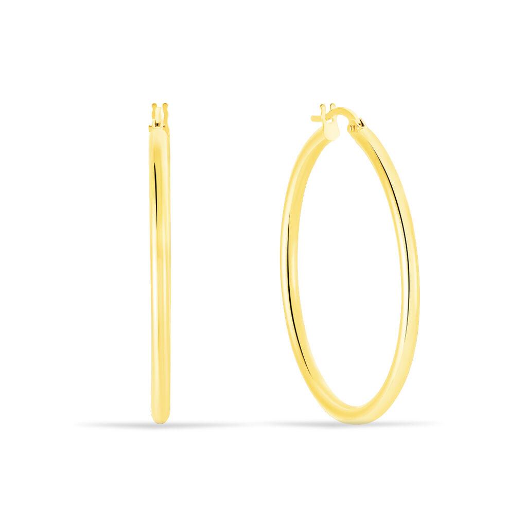 Damen Creolen Gold 585 30mm -  Damen | Oro Vivo