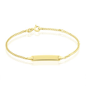Kinder Id Armband Panzerkette Gold 375  - ID-Armbänder Kinder   Oro Vivo