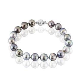 Damen Perlenarmband Weißgold 585 Tahitiperlen - Armbänder Damen | Oro Vivo