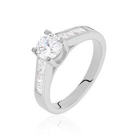 Damenring Silber 925 Zirkonia - Personalisierte Geschenke Damen | Oro Vivo