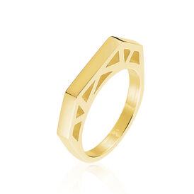 Damenring Edelstahl Vergoldet  - Ringe Damen | Oro Vivo