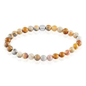 Damenarmband Silber 925 Achat  - Armbänder Damen   Oro Vivo