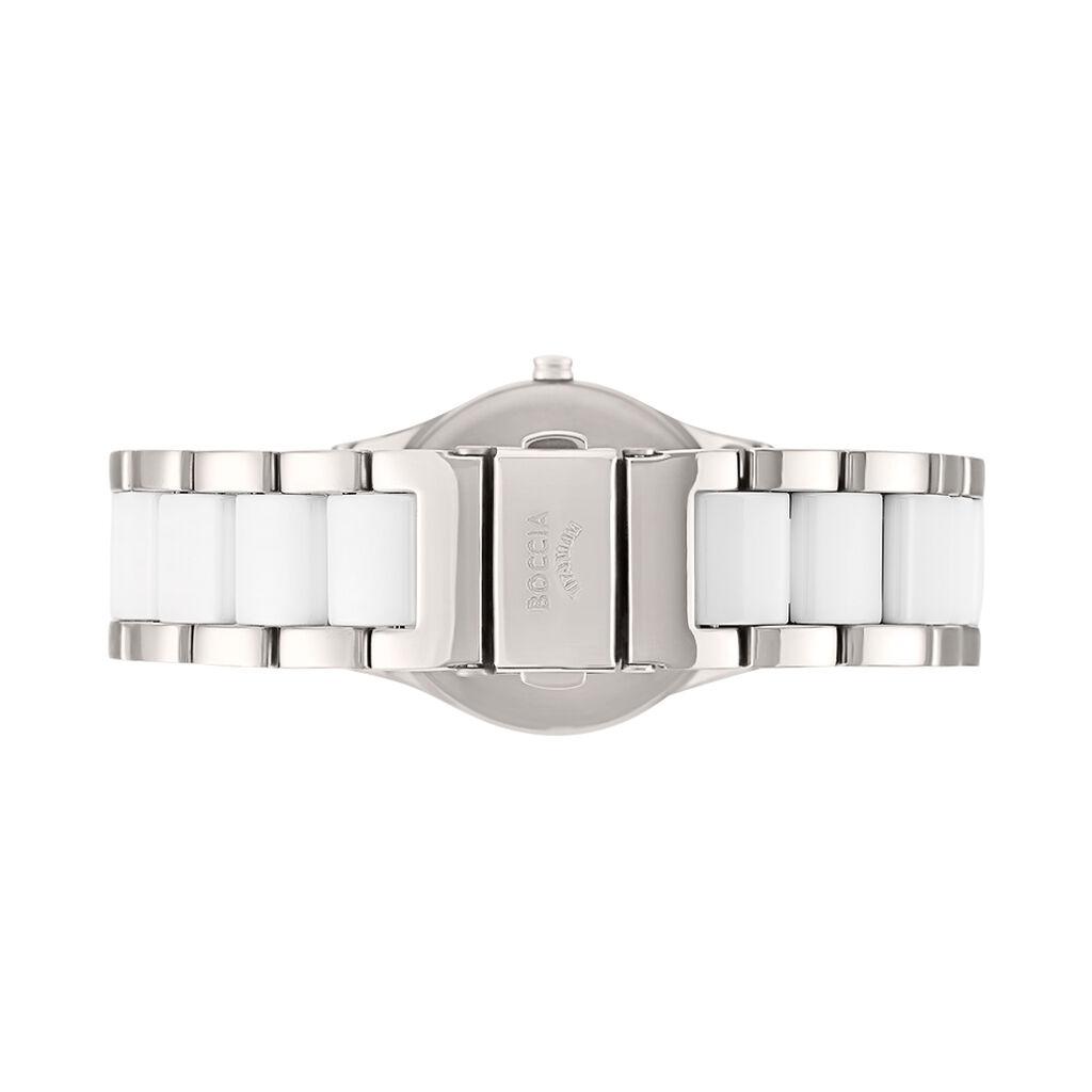 Boccia Damenuhr Titanium 3189-01 Quarz - Analoguhren Damen   Oro Vivo