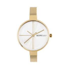 Borelli Damenuhr New York Ss15942l97 Quarz - Analoguhren Damen   Oro Vivo
